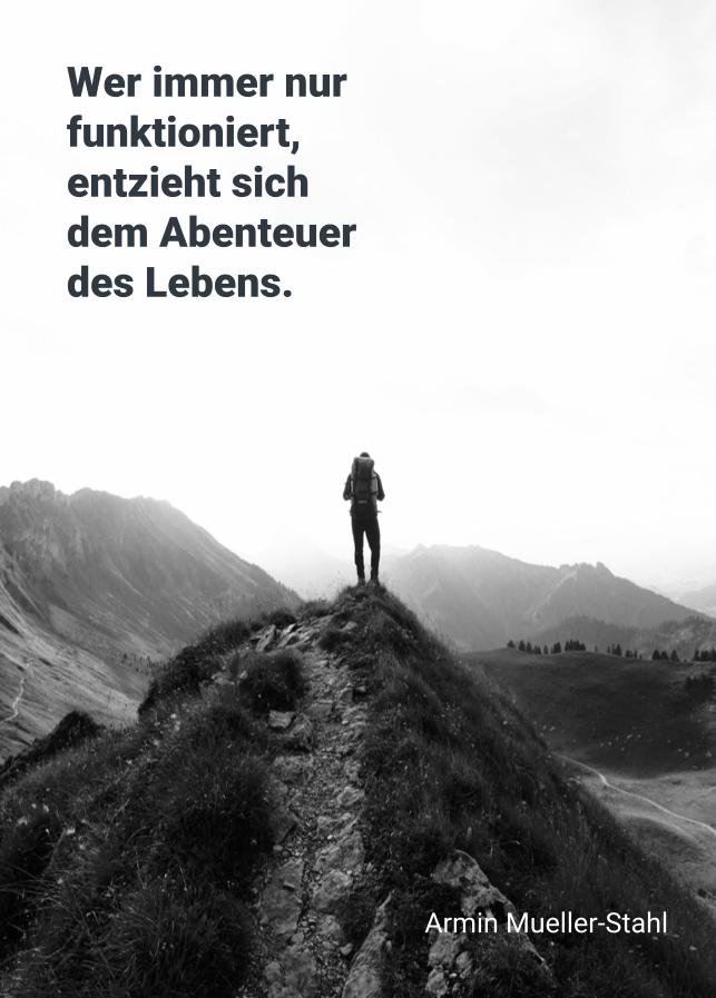 Postkarte Armin Müller-Stahl